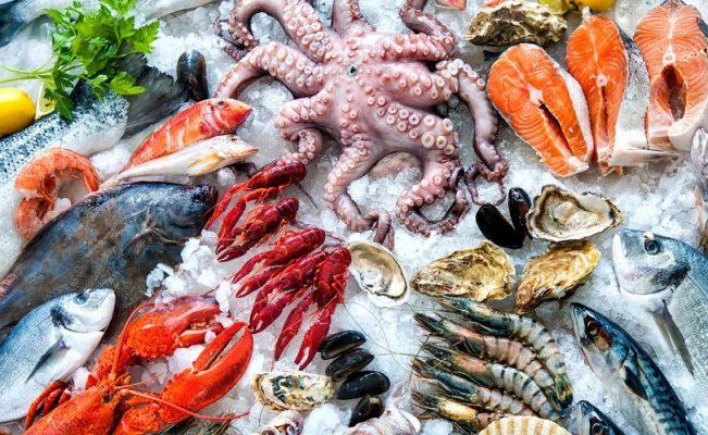 Chợ hải sản tươi sống tại Sài Gòn