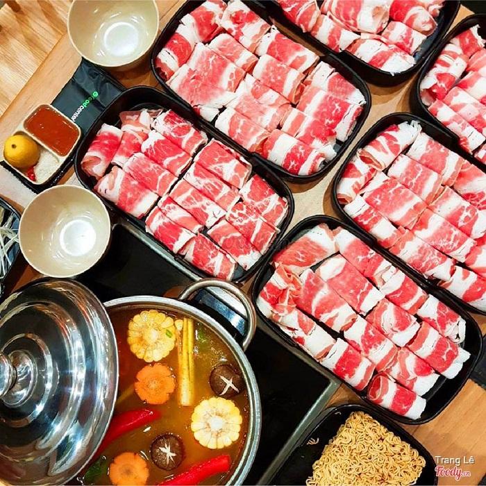 Thịt bò mỹ ba chỉ nhập khẩu chất lượng cao