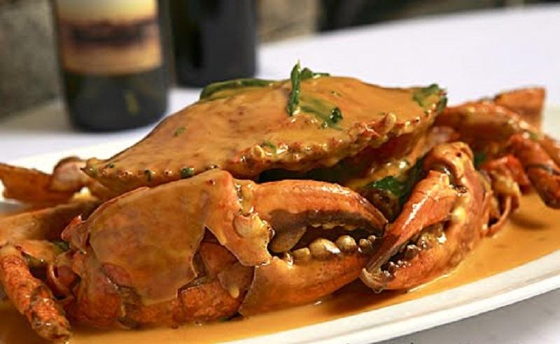 Các món ăn chế biến từ cua Tasmania