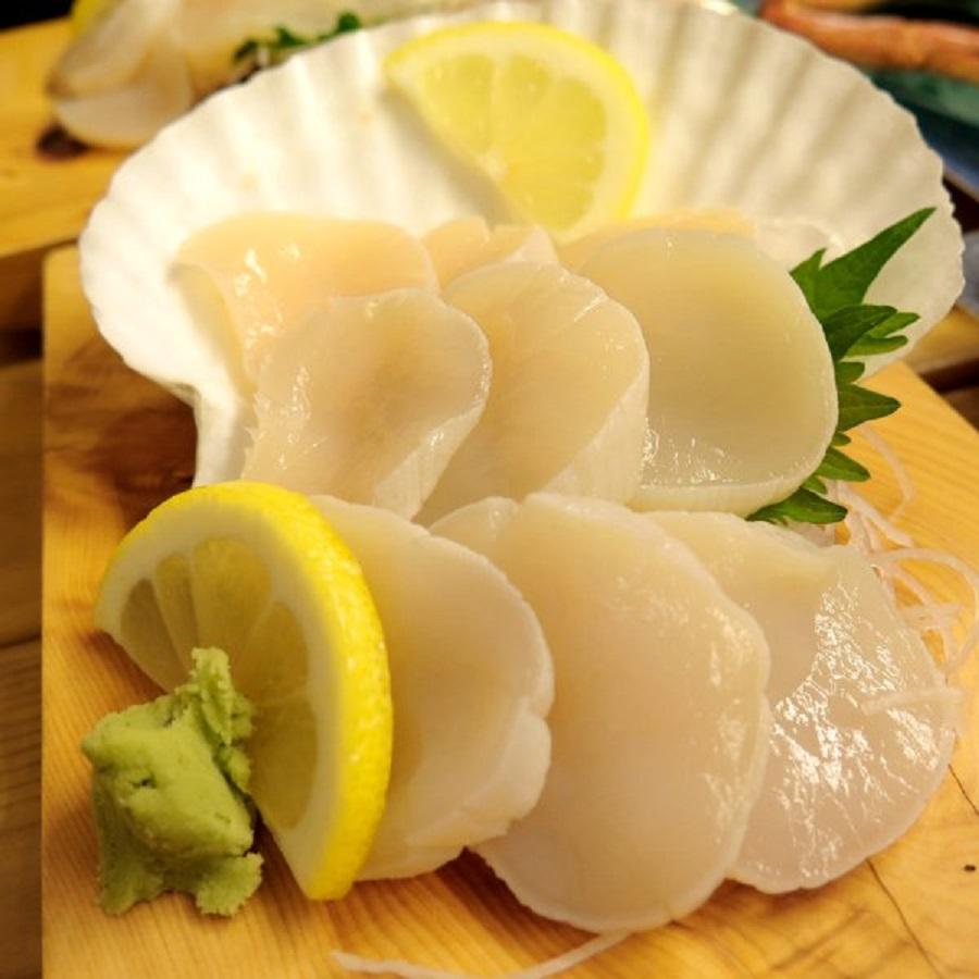 Sò Điệp Nhật sashimi