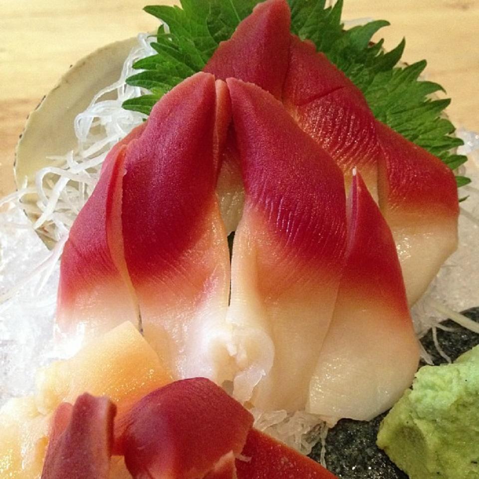Washimi thịt Sò Đỏ Canada