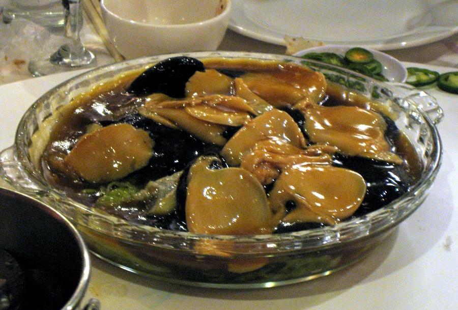 Bào Ngư Úc viền đen sốt dầu hào thơm ngon bổ dưỡng