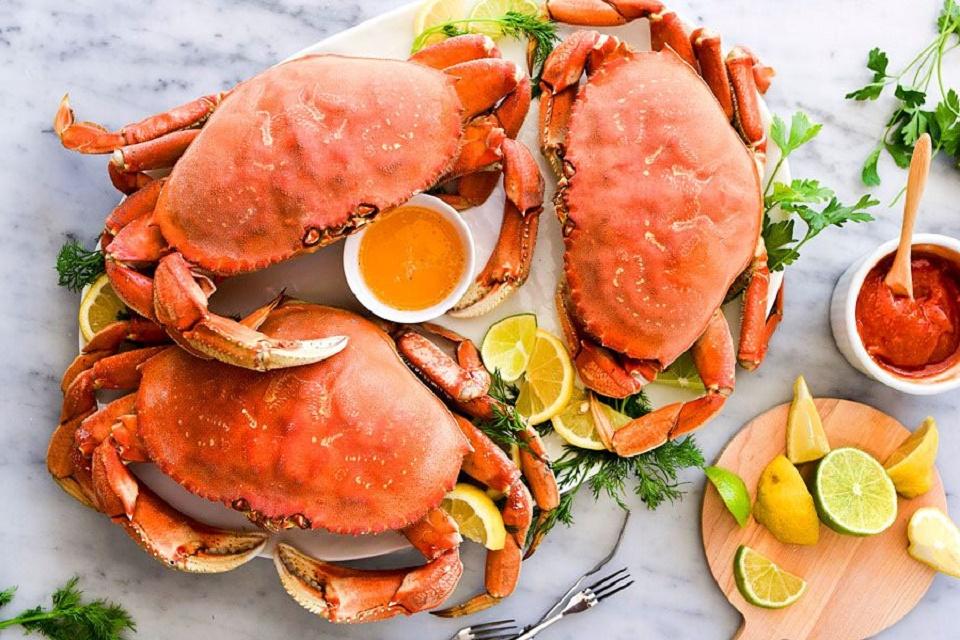 Cua đá Canada được đánh giá là một trong 4 loại hải sản cao cấp được ưa chuộng nhất trên thế giới