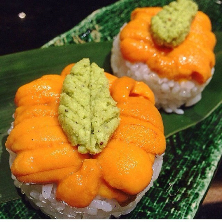 Sashimi Thịt Cầu Gai Nhật.