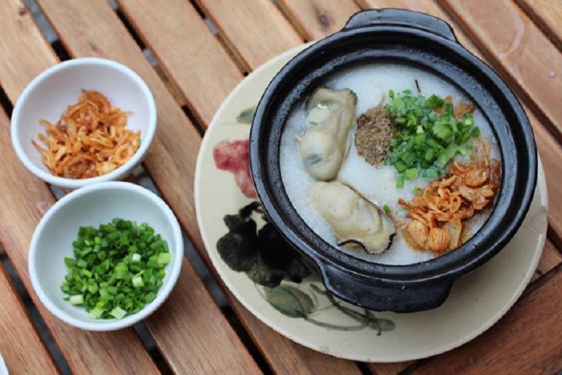 Cháo Hàu Nhật thơm ngon bổ dưỡng.